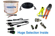 security camera cable and wiring tools