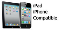 iPhone and iPad Compatible