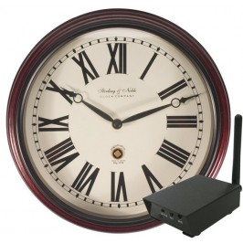 Hidden Digital Wireless Wall Clock with RCA Receiver