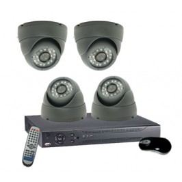 4 Camera Dome System