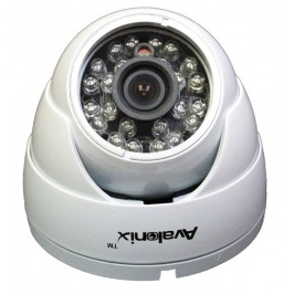 White colored Vandal Proof Dome Camera