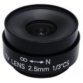 2.5mm Fixed Iris CS Mount Lens