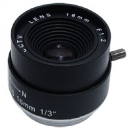 16mm Fixed Iris CS Mount Lens