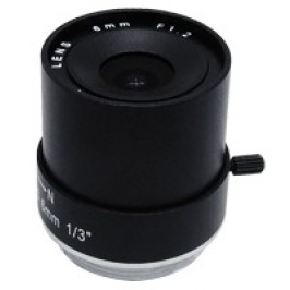 8mm Fixed Iris CS Mount Lens