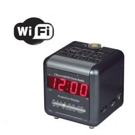 Hidden Wireless Clock Camera Wifi