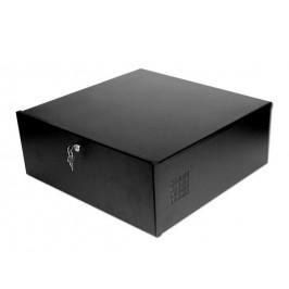 DVR VCR Desktop Security Lockbox with Fan