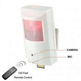 Hidden Motion Detector Camera with DVR