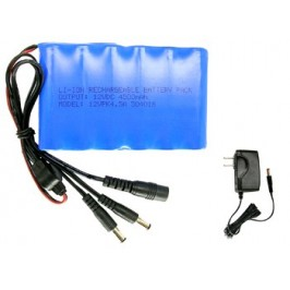 12V Battery Pack with Charger