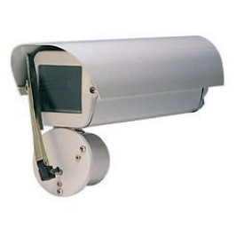 Outdoor CCTV Camera Enclosure with Wiper