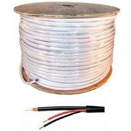 500ft Spool of Siamese Coax Cable