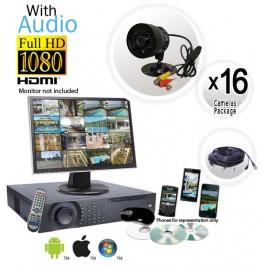 Ultimate 16 Camera Audio Camera System