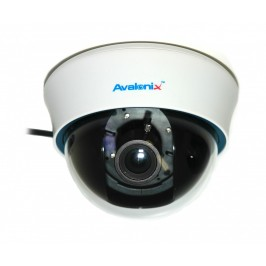 700TVL White Dome Camera with Zoom Lens