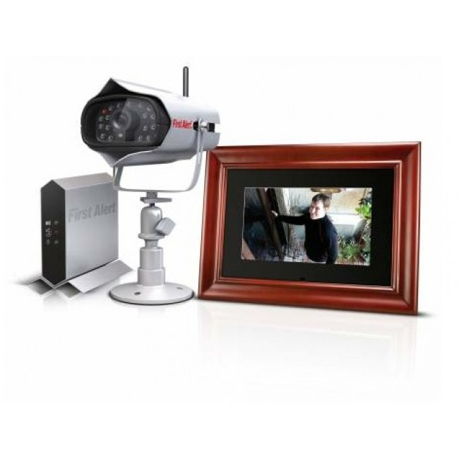 Wireless Security Camera with LCD Photo Frame - Closeout