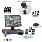12 Security Camera System