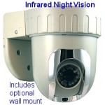 Mini Pan Tilt Camera with Infrared - Mini DiGiDome