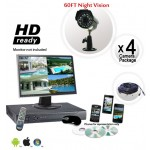 4 Security Camera System