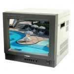 "14"" Color Monitor with Audio Input and Speaker"