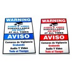 "9"" x 6"" Warning Sign"