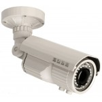 WDR Security Camera with Night Vision 700TVL 9-22mm Lens