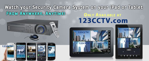 iPhone and iPad Remotely Viewable Camera Systems from 123CCTV